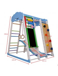 Options: Board+abacus+climbing wall